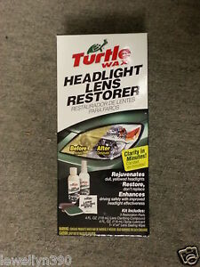 TURTLE-WAX-Headlight-Lens-Restorer-Kit-T240KT-NEW