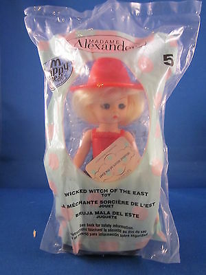 Mcdonalds Happy Meal Madame Alexander Wizard Of Oz Wicked Witch Doll 5 2007