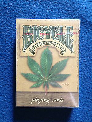 Bicycle Playing Cards Hemp deck new sealed!