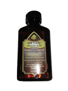 100ml / 3.4oz Moroccan Argan Oil Hair Treatment ONE N ONLY 100% Genuine