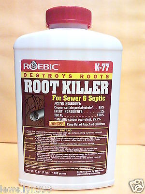 Roebic Root Killer For Sewer & Septic 32oz K-77