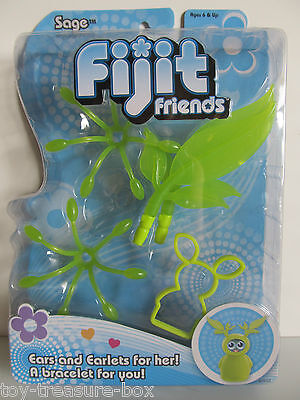 Green Accessory Pack For Fijit Friend Sage W/ Ears & Earlets For Her