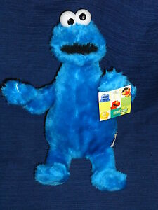 11 Quot Nanco Stuffed Sesame Street Plush Cookie Monster W Tag