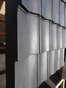 Roofing Sheets Dark Grey Pan Tiles shed cabin stables garages recycled plastic