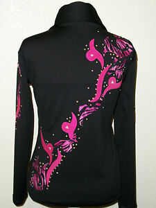 Western Show clothes RAIL PLEASURE HALTER Shirt Jacket SHOWMANSHIP,Crystals!
