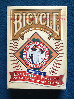 Bicycle® Negro Leagues Deck New sealed!
