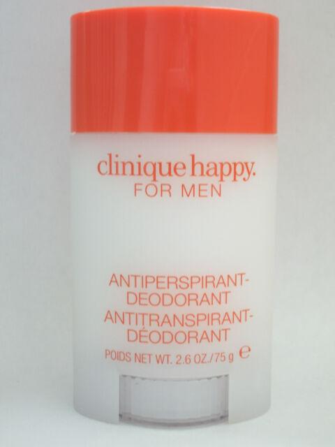 CLINIQUE Happy For Men Deodorant Stick FULL SIZE Brand New*Antiperspirant