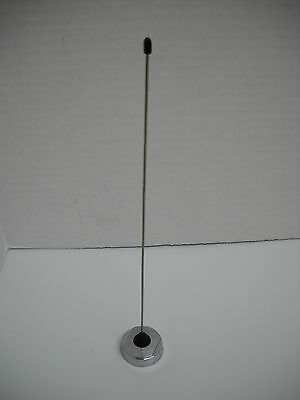 P71 Crown Victoria 12 Police Antenna Chrome Without Base Mount Hardware