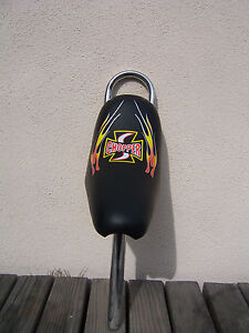 BICYCLE-CHOPPER-SEAT-SISSYBAR-OCC-STINGRAY-CRUISER-NEW