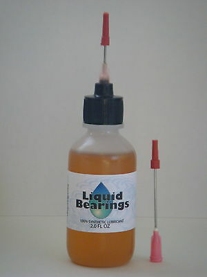LARGE 2 oz bottles of Liquid Bearings, the BEST all-purpose synthetic lubricant!