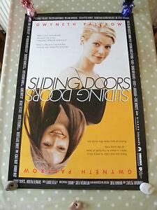 SLIDING-DOORS-ORIGINAL-CINEMA-US-1-SHEET-ROLLED-POSTER-1997-GWYNETH-PALTROW