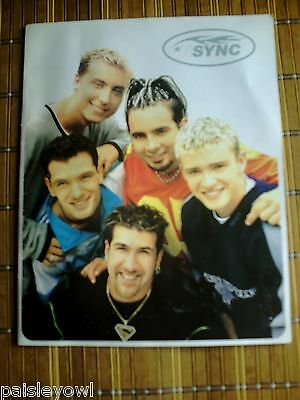 NSYNC Concert Tour Program 1998 N Sync Justin Timberlake