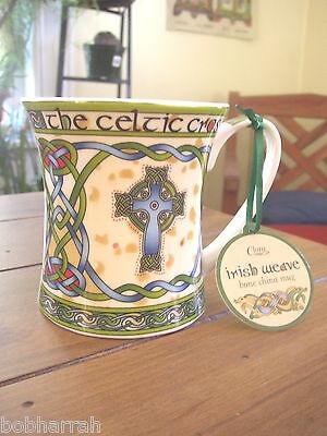 The Celtic Cross from Clara Irish Weave, Bone China Cup or Mug