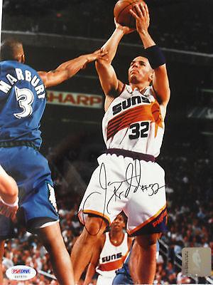 Jason Kidd Suns Mavericks Signed 8x 10 Psadna Coa G37570 Buy Authentic