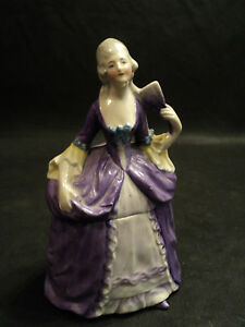 1930s-GERMAN-FIGURAL-POWDER-DRESSER-BOX-with-VICTORIAN-LADY-HOLDING-FAN