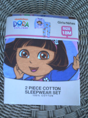Dora The Explorer 2 Pcs Sleepware