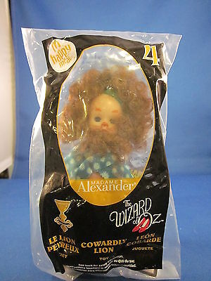 Mcdonalds Happy Meal Madame Alexander Wizard Of Oz Cowardly Lion Doll 4 2008