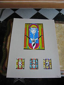 Vintage-70s-80s-J-Gerard-Signed-Marker-Colored-Drawing