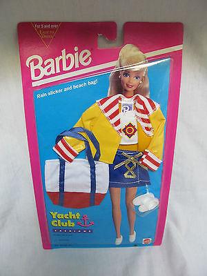 1994 Barbie Doll Clothing Yacht Club Fashions Rain Coat & Beach Bag 13018