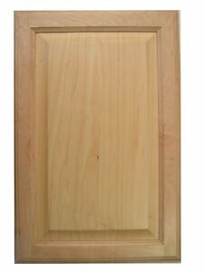 Maple raised panel kitchen bath cabinet doors refacing for Maple kitchen cabinets for sale