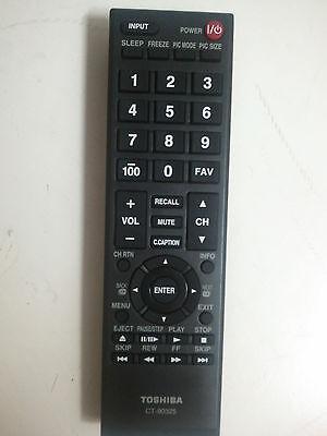 Toshiba Ct-90325 Remote For 22av600u 19av600u 32e200u 37e200u 40e200u1 32dt1