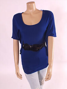 Stunning-Jane-Norman-Azure-Blue-Tunic-Top-Size-6-8-10-12-14-16-BNWT-RRP-28