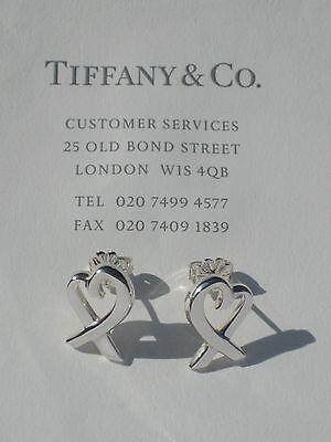 Orecchini Tiffany Cuore Ebay