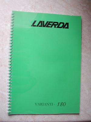 Laverda 180 Additions Manual