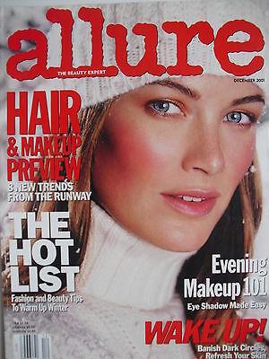 CAROLYN MURPHY December 2001 ALLURE Magazine
