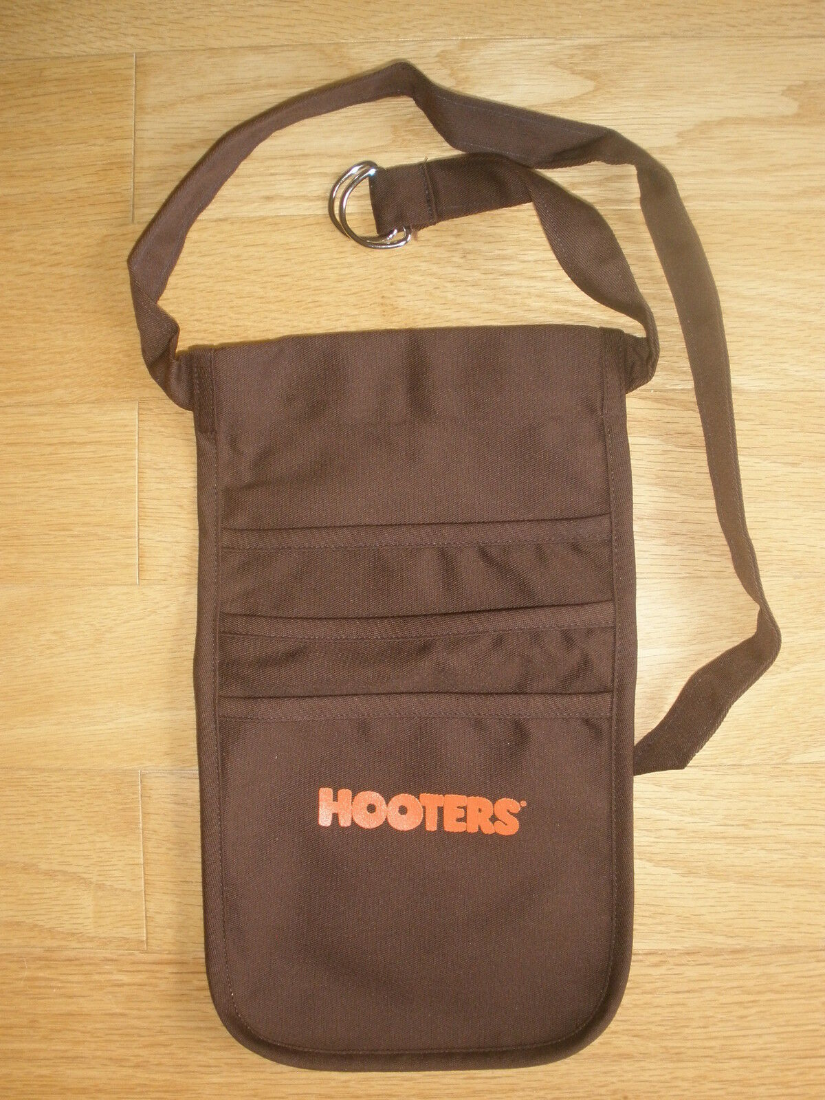 Authentic Hooters Uniform Brown Money Pouch Halloween Free Shipping