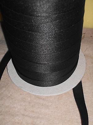 (0,49 €/Meter)  10 m Stoßband Farbe: Schwarz