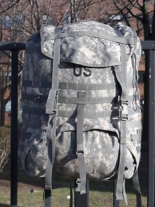Made-in-USA-Army-MOLLE-II-Ruck-Sack-ACU-Rucksack-digital-Back-Pack-Main-Bag-USGI