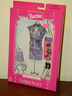 Barbie 1998 Fashion Avenue Boutique Outfit NRFB #20576