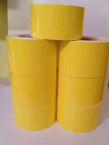 Yellow-STRIPE-x-10m-DECAL-car-van-lorry-boat-taxi-motorhome-caravan-pickup