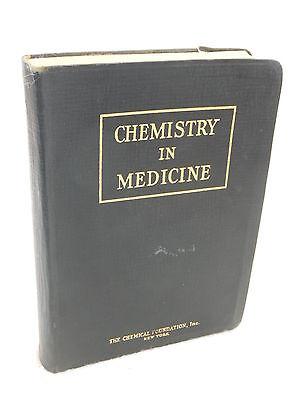 Edited By Julius Stieglitz  Chemistry In Medicine  Chemical Foundation 1929
