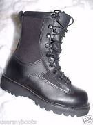 Boys Black Leather Boots