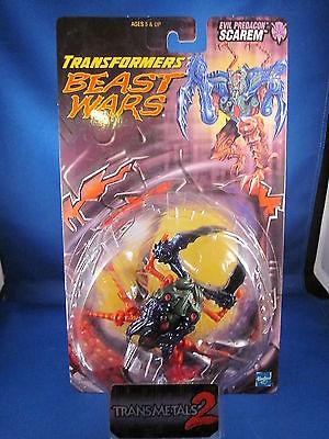 Transformers Beast Wars Evil Predacon Scarem Transmetals 2
