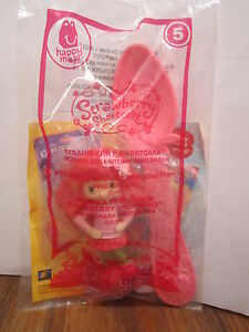 McDonalds-Strawberry-Shortcake-Scented-2010-Happy-Meal-Toy-with-Spoon-5-NEW