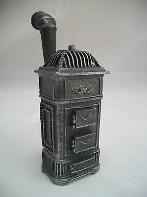 Cannon Parlor Stove 1.842/0 Miniature Dollhouse Furniture Metal 1/12 Scale