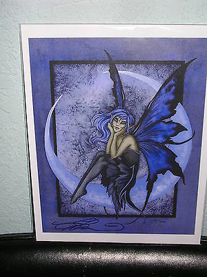 Amy Brown - One In A Blue  Moon - OUT OF PRINT - SIGNED