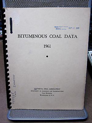 Bituminous Coal Data 1961 National Coal Association Distribution