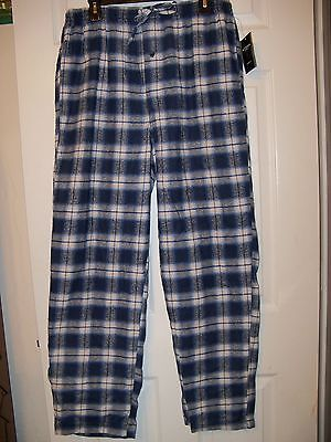 Accents By Isaco Blue Flannel Pajama Pj Sleep Lounge Pants Mens Size Xl