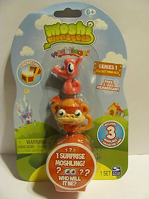 Moshi Monsters Moshlings 18 Stanley And 02 Chop Chop Series 1