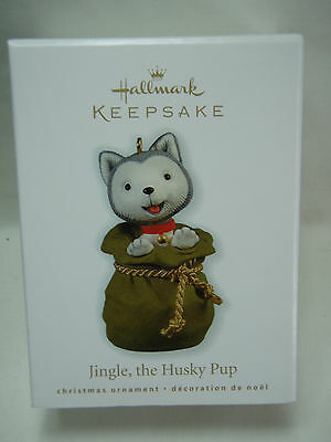 2010 Hallmark Keepsake Jingle The Husky Pup