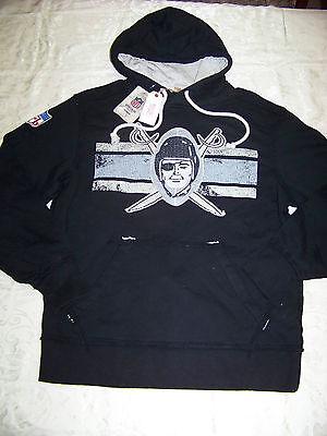 Reebok Men's Vintage Collection Oakland Raiders Hoodie