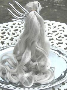 Silver Grey Clip In Hair Extensions 111