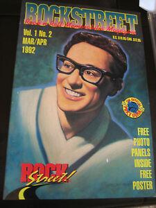 Rockstreet-Magazine-Premier-Issue-Vol-1-No-2-Buddy-Holly-Cover-1992