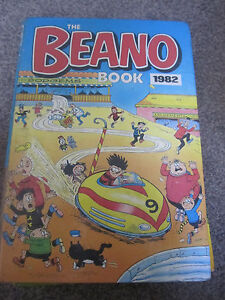 THE BEANO BOOK 1982 HARDBACK ANNUAL