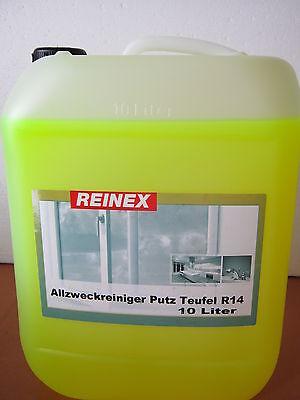 Allzweckreiniger 10 Liter Grundreiniger Citro Reinigungsmittel Grundpr. 0,94€/1L