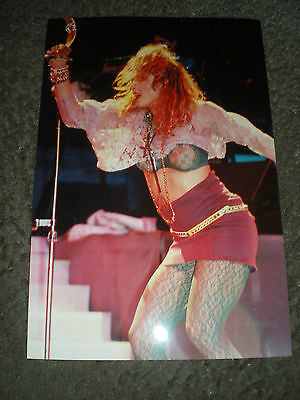 MADONNA - EARLY CONCERT PHOTO - BUSTING OUT ALL OVER!
